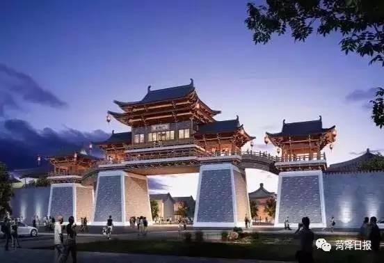 菏泽将打造一座汉代古城 总占地约1200多亩图片