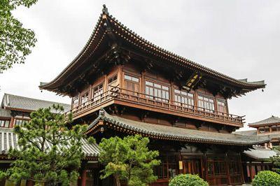 中国榫卯结构建筑