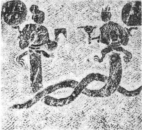 民间圆形墓结构图