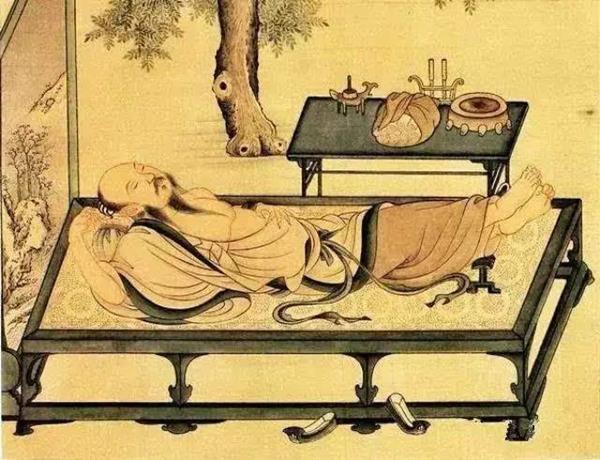 古代烧烤简笔画